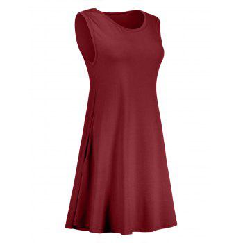 Pocket Mini Trapeze Dress