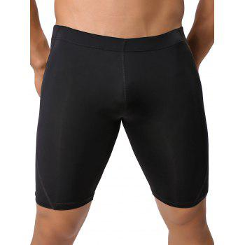 Breathable Stretch Mid-Rised Swimming Shorts