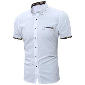 Button Down Short Sleeves Shirt