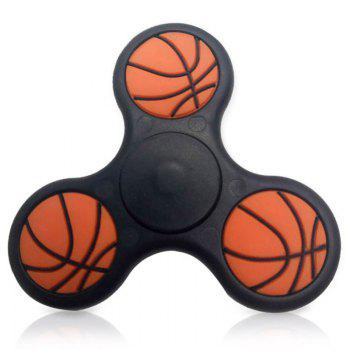 Basketball Pattern Triangle Fidget Finger Spinner