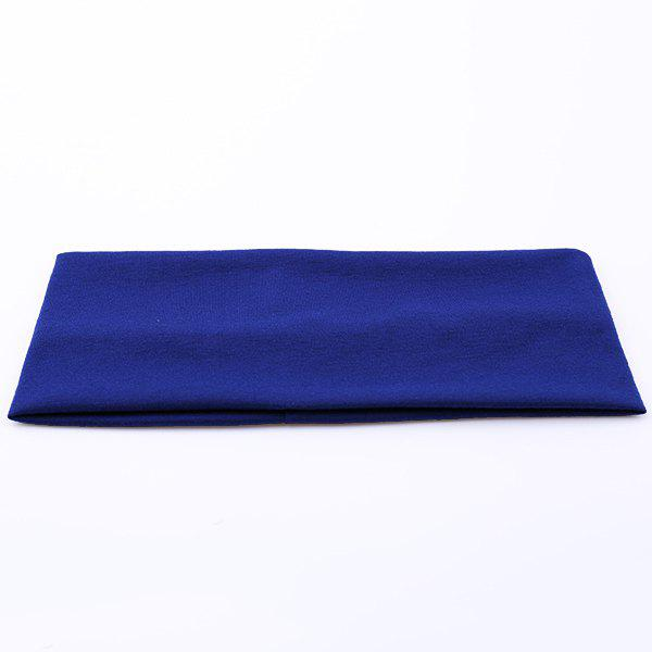 Sport Hip-Pop Wide Plain Elastic Headband plain headband 3pcs