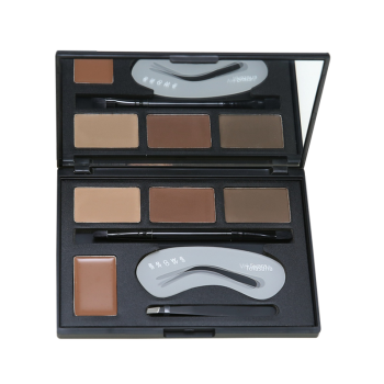 4 Color Matte Eye Brow Makeup Kit