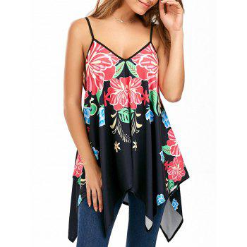 Printed Handerchief Cami Top