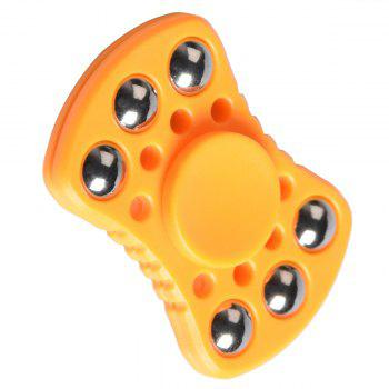 Roulement à billes anti-stress Fidget Spinner - Orange