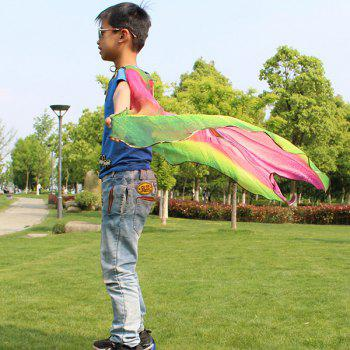 Children Novelty Wing Chiffon Cape - PINK/YELLOW/GREEN