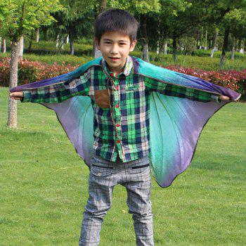 Chiffon Novelty Children Cartoon Insect Wing Cape - BLUE VIOLET