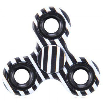 Fiddle Toy Triangle Striped Fidget Spinner