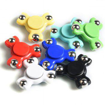 Focus Toy Triangle Ball Bearing Fidget Spinner - Rouge