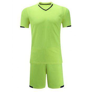 V Neck College Soccer Sport Football Sportwear