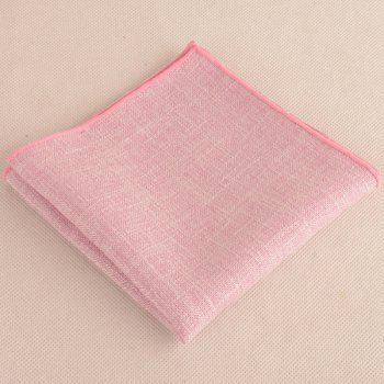 Blending Linen Grain Handkerchief and Neck Tie -  PINKISH PURPLE