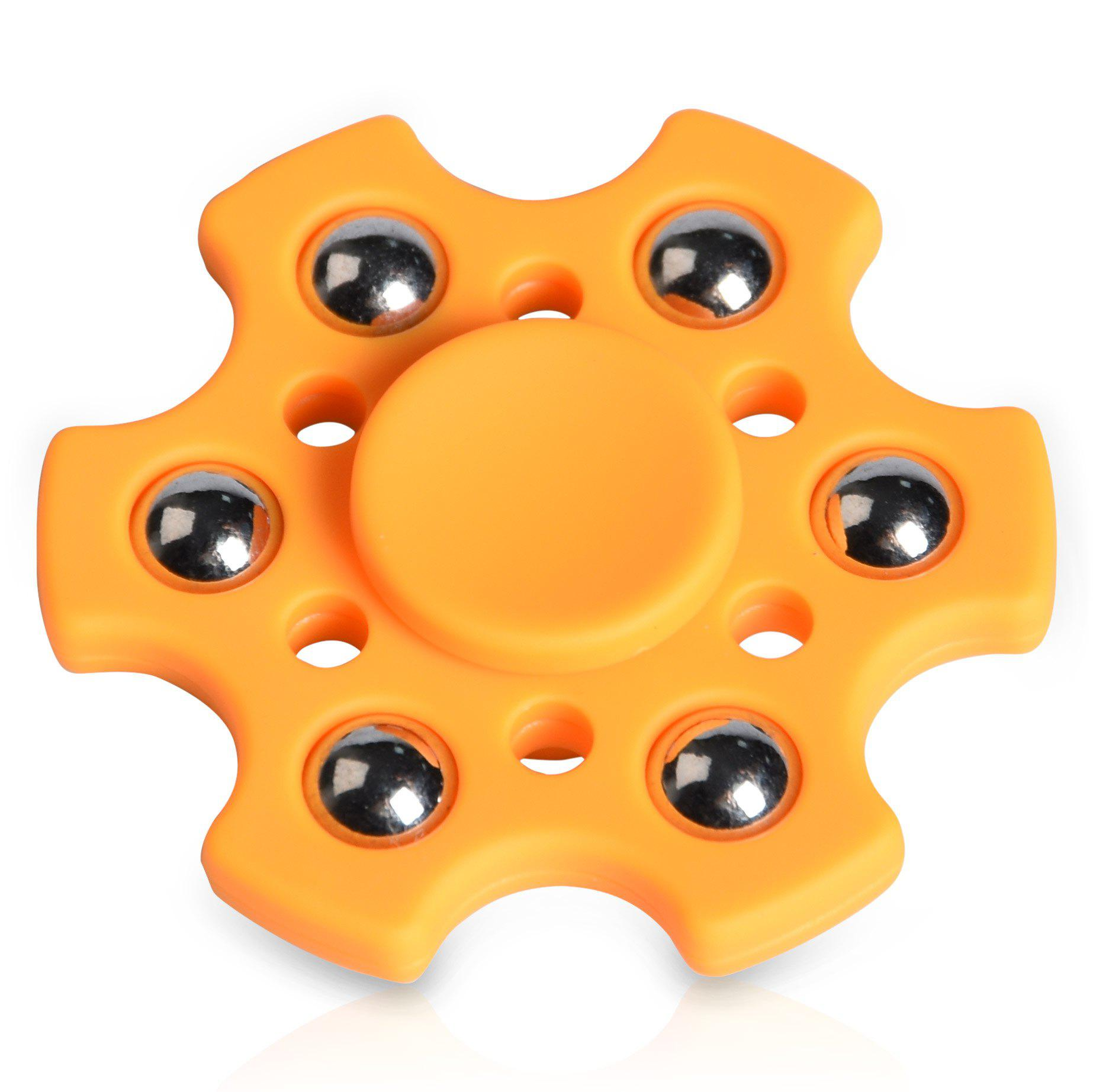 Snowflake Shape Ball Bearing Fidget Finger Spinner