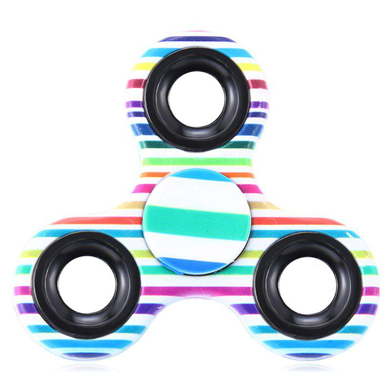 Fiddle Toy Triangle Stried Fidget Spinner - Rayure
