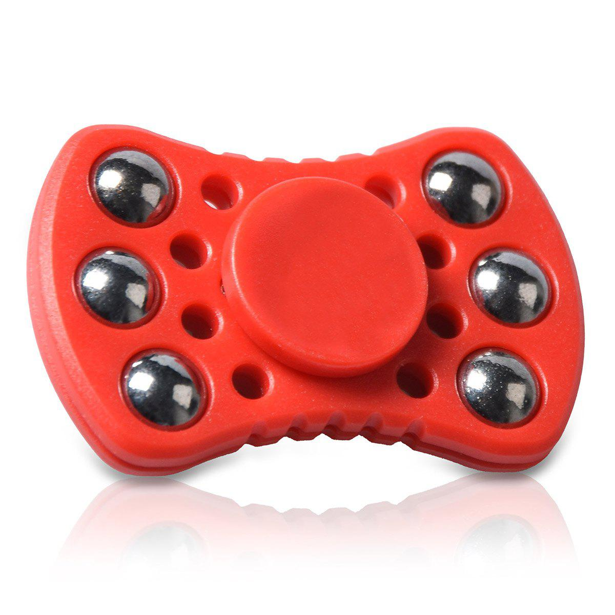 Roulement à billes anti-stress Fidget Spinner - Rouge