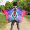Chiffon Novelty Children Cartoon Insect Wing Cape - ROYAL