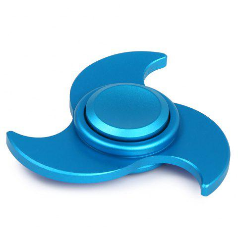 EDC Fiddle Toy Windmill Fidget Spinner - BLUE