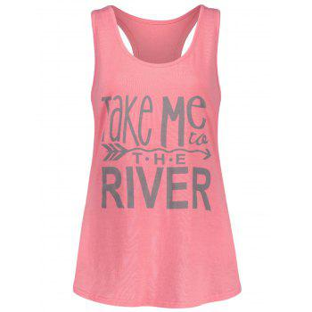 Take Me River Racerback Tank Top