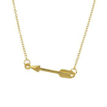 Love Cupid Arrow Pendant Necklace
