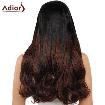 Adiors Perm Dyeable Long Middle Part Straight 180% Lace Front Synthetic Wig