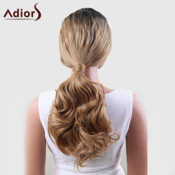 Adiors Perm Dyeable Long Middle Part Wavy 180% Lace Front Synthetic Wig