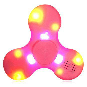 LED Lights Fidget Spinner with USB Charge Bluetooth Speaker