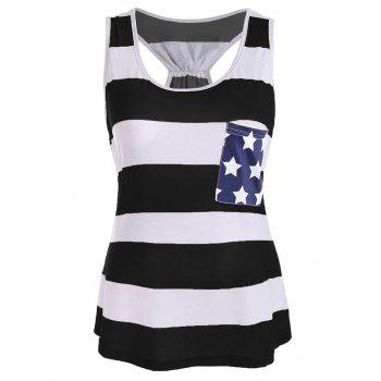 Stars and Stripes Racerback Tank