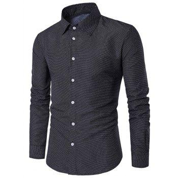 Polka Dot Long Sleeve Shirt