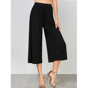 High Waisted Ninth Palazzo Pants