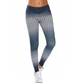 Polka Dot Printed  Funky Gym Leggings