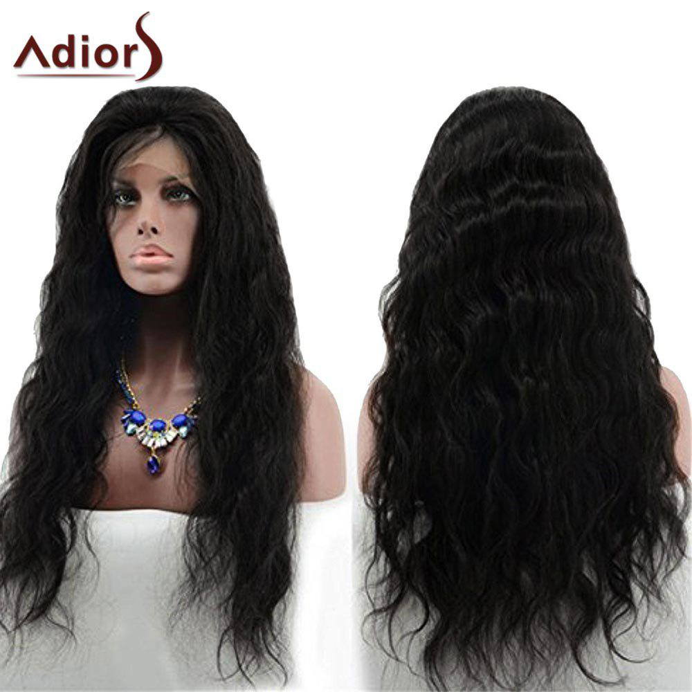 Adiors Long Shaggy Layered Wavy Free Part Lace Front Synthetic Wig