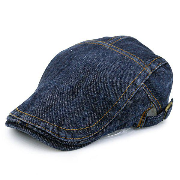 Adjustable Vintage Denim Flat Hat bison denim vintage designer 100