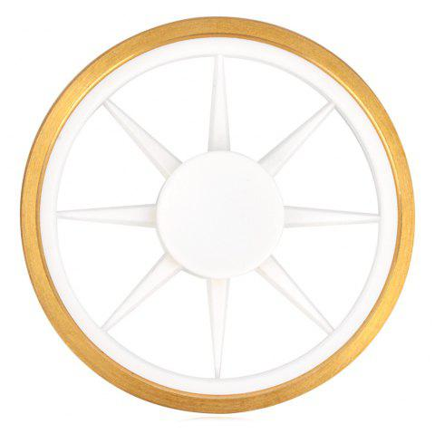 Stress Reliver Toy Wheel EDC Fidget Spinner - Blanc