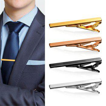 Embellished Alloy Tie Clip Set