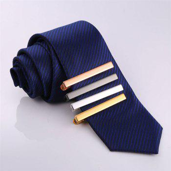 Embellished Alloy Tie Clip Set -  multicolorCOLOR