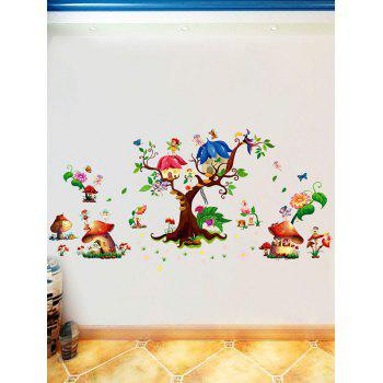 Elf Decorative Cartoon Nursery Wall Sticker - multicolorcolore 60*90CM