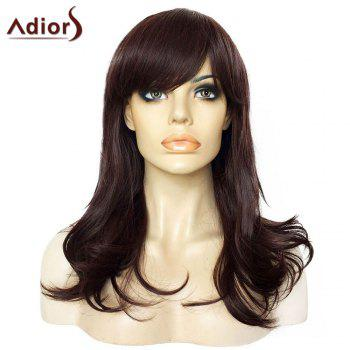 Adiors Side Bang Lightly Curly Long Synthetic Wig