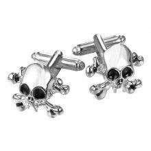 Embellished Skull and Crossbones Cufflinks