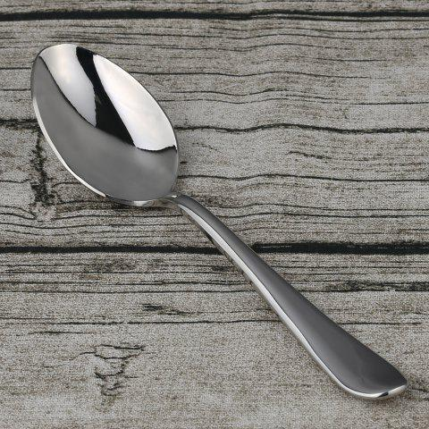 Stainless Steel Tableware Fork Knife Spoon Teaspoon - STAINLESS STEEL TABLE SPOON