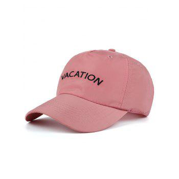 Water Proof Letters Embellished Baseball Hat