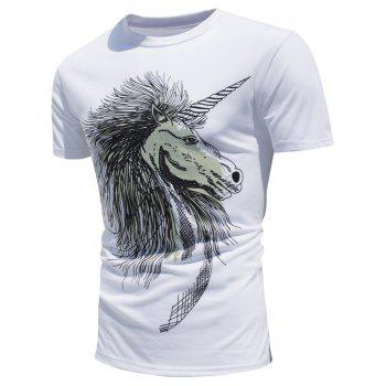 Color Changing Horse Print T-Shirt