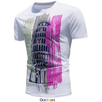 Short Sleeve T-Shirt with Color Change