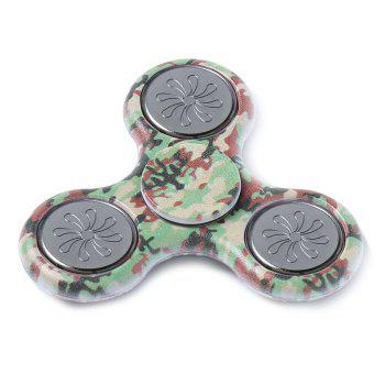 Hand Spinner Colored Drawing Finger Gyro Plastic Fidget Toy