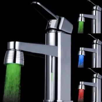 Water Stream Color Change LED Light Luminous Faucet