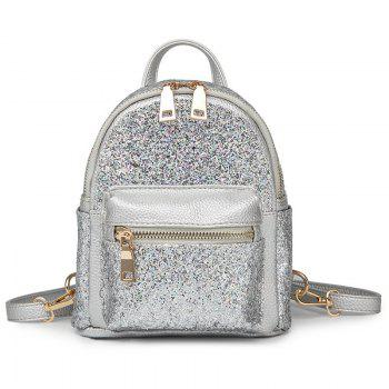 Mini Sequin Glitter Backpack