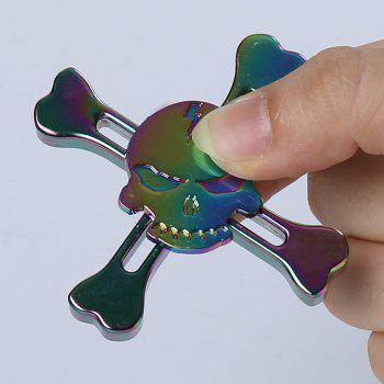 Stress Reliever Pirates Alloy Fidget Spinner Crâne Finger Gyro - multicolorcolore