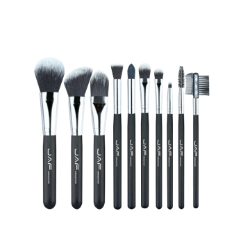 10Pcs Nylon Makeup Brushes Set