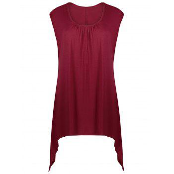 Longline Asymmetrical Tank Top