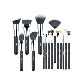 15Pcs Portable Nylon Makeup Brushes Set