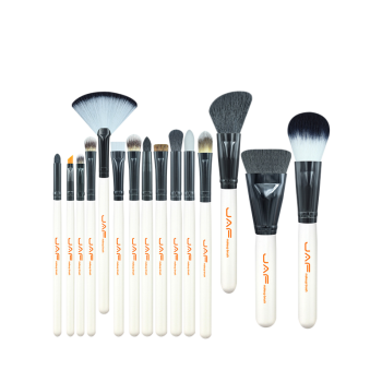 15Pcs Portable Beauty Makeup Brushes Set