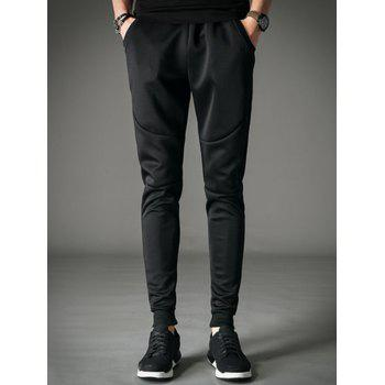 Pocket Drawstring Jogger Pants