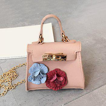 Chain Flowers Cross Body Bag
